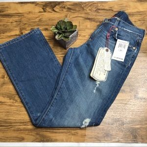 NWT Lucky Brand Classic rider jeans, short length